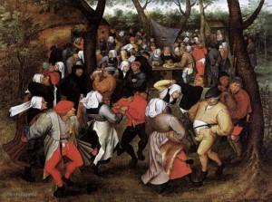 Pieter-Brueghel-de-Jonge--Boerenbruiloft-Dance-i4416